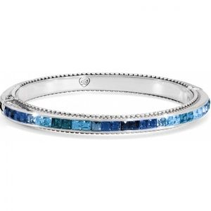Brighton Set of 3 Blue Stone Spectrum Bangles